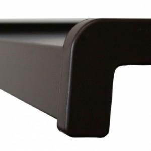 Parapet aluminiowy zimnogięty